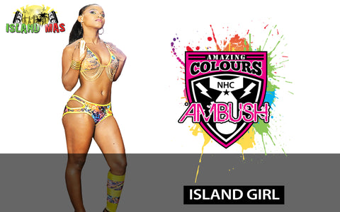 Ambush Island Girl section by Amazing Colours - $175USD
