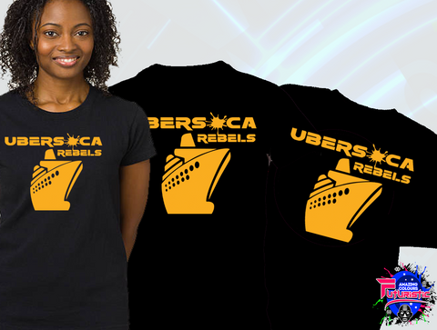 Continue the experience beyond the music with Ubersoca Cruise and become an Ubersoca Rebel! Purchase your exclusive Ubersoca Rebel T-Shirt Section - $100 ECD | $45 USD