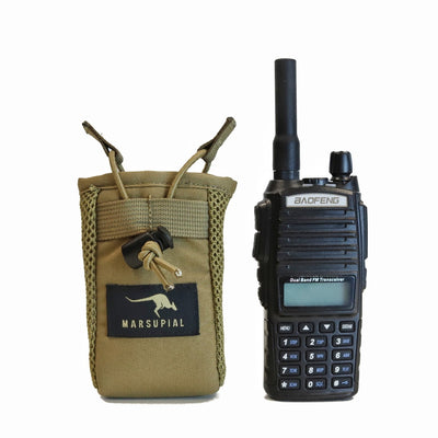 SMALL RADIO POUCH
