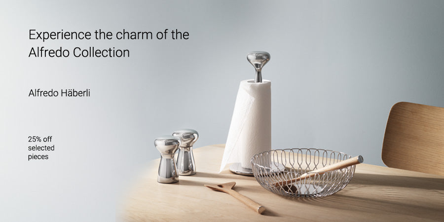 Experience the charm of the Alfredo Collection