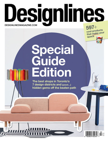 TORP featured in Designlines guide to Best Design Stores in Toronto