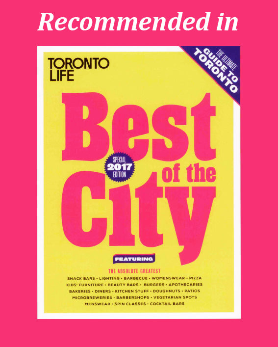 TORP one of the Best of the City 2017 in Toronto Life