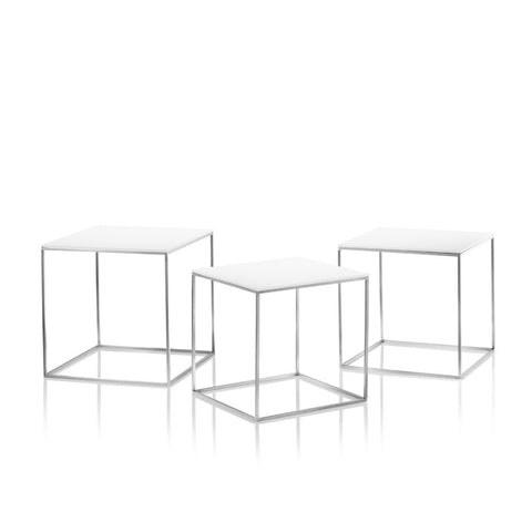 Republic of Fritz Hansen PK71 Nest of 3 Tables