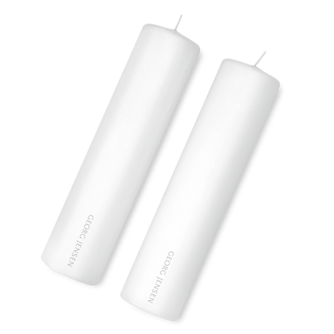 Georg Jensen Candle Set, 2 Pcs.