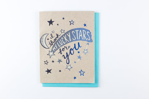 Thank My Lucky Stars - card
