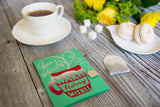Cup of Warm Holiday Wishes - green | English Breakfast Tea included