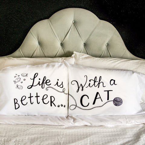 Life is BETTER...with a CAT - Black