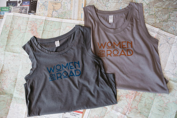 Women on the Road Logo Cap Sleeve Jersey Crew (S-XL)