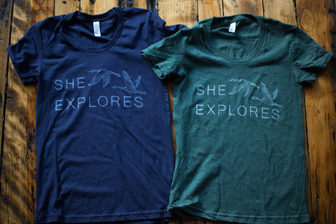 She Explores Logo Tee 2.0