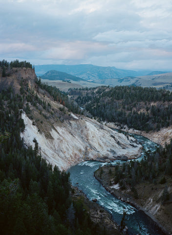 Yellowstone River on 120mm film