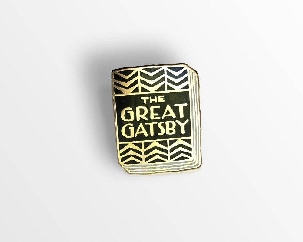 Great Gatsby pin