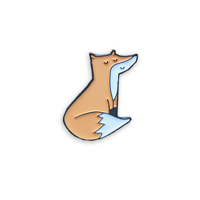 Little fox pin