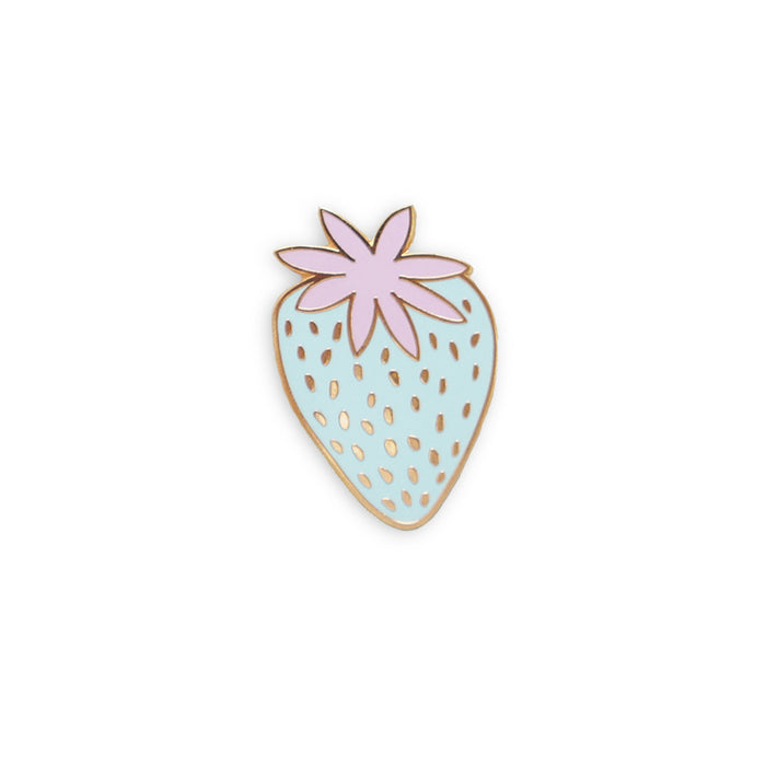 Pastel strawberry pin