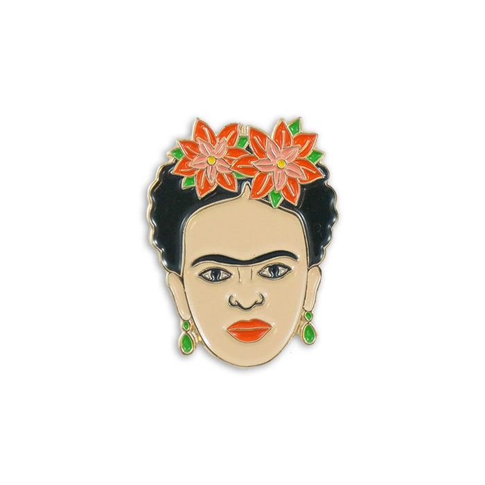 Frida holiday pin