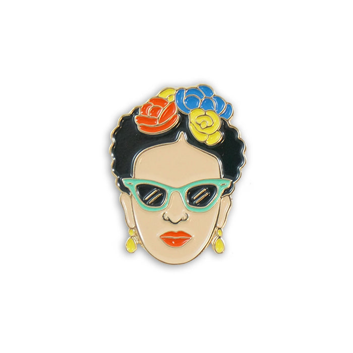 Frida sunglasses pin