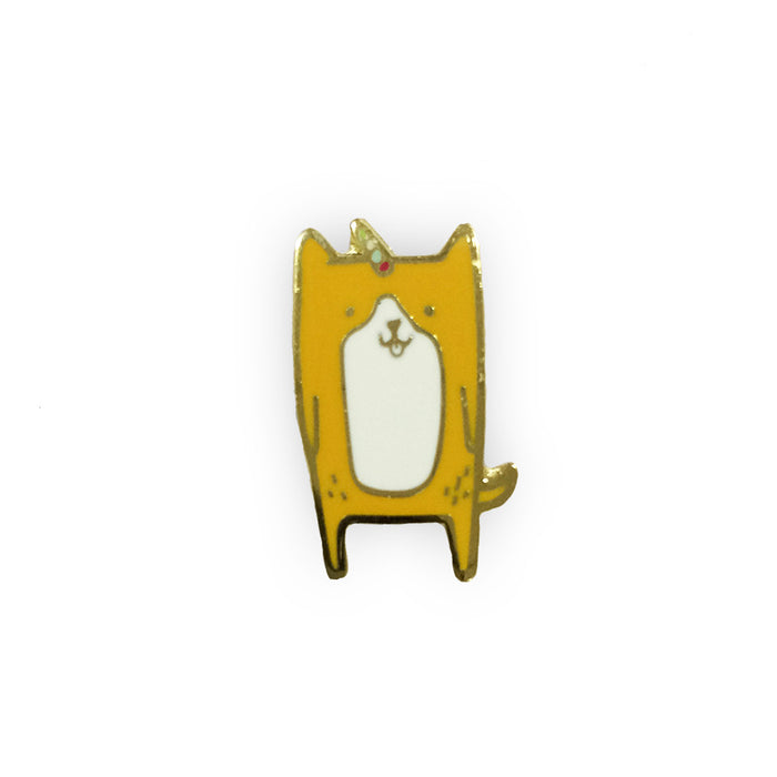 Corgicorn pin