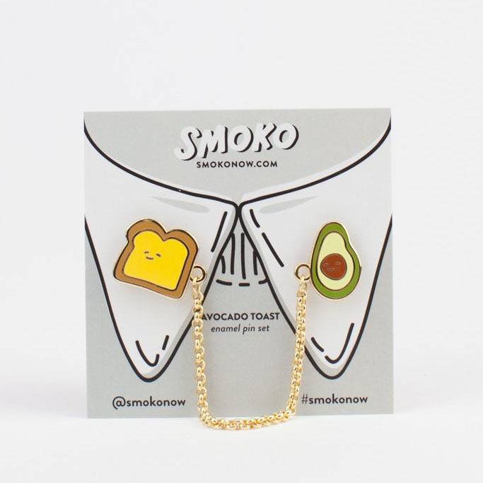 Avocado + toast pin