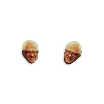 Bernie sanders earrings