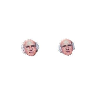 Larry david earrings