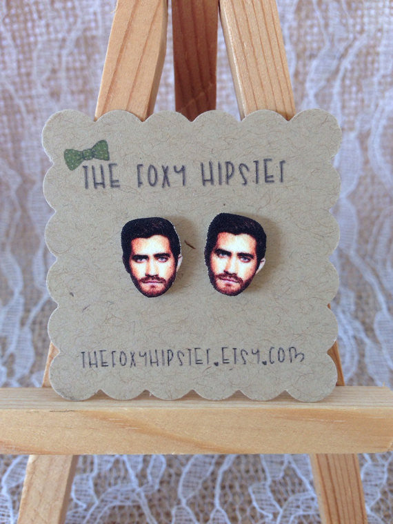 Jake gyllenhal earrings