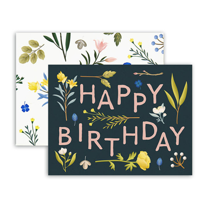 Plant variety bday card