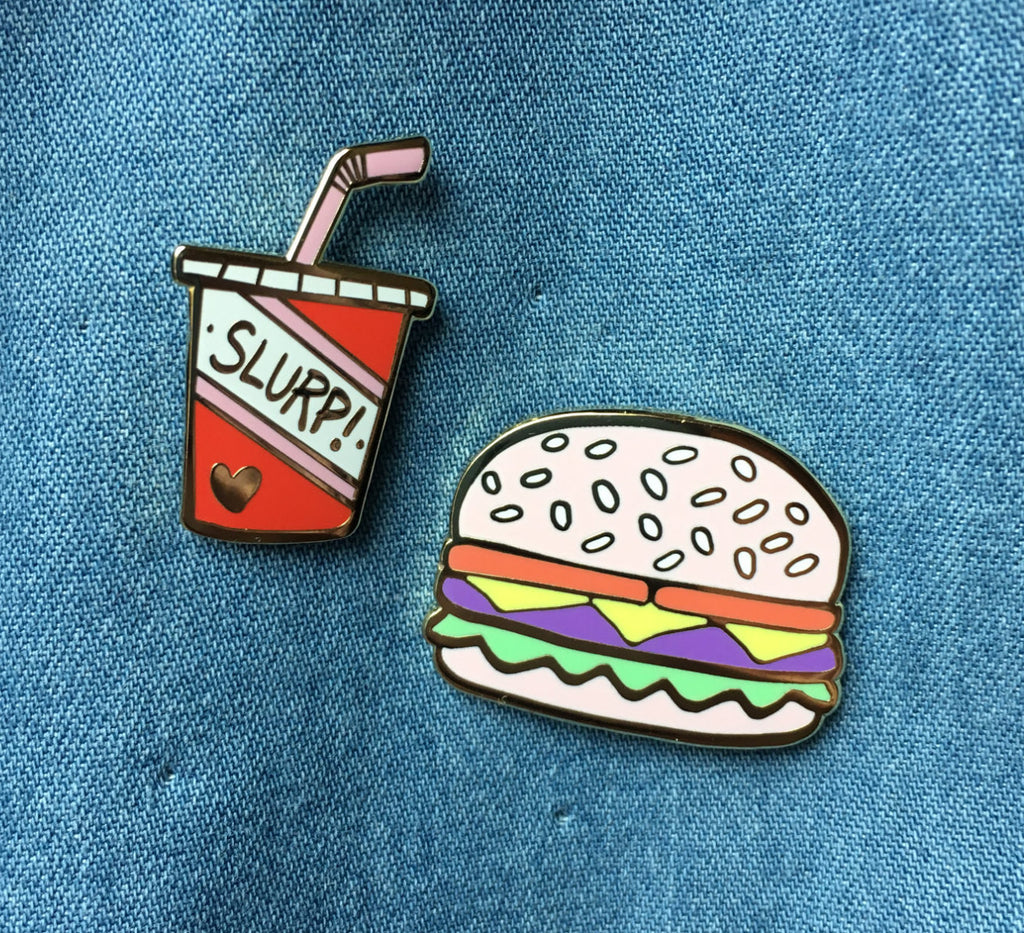 Slurp soda pin