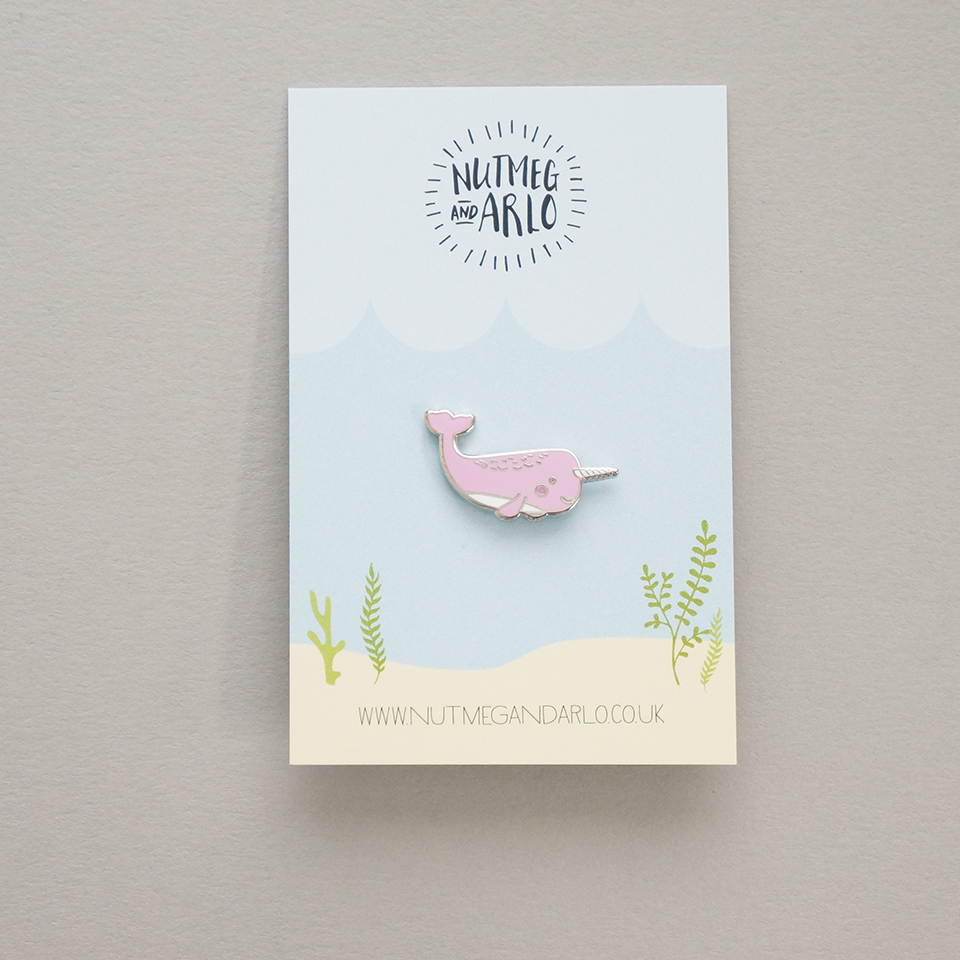 Mrs Narwhal pin