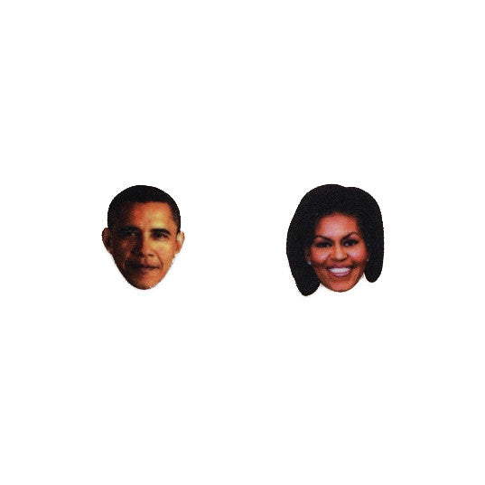 Obamas earrings