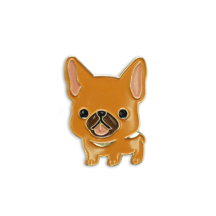 French bulldog pin tan