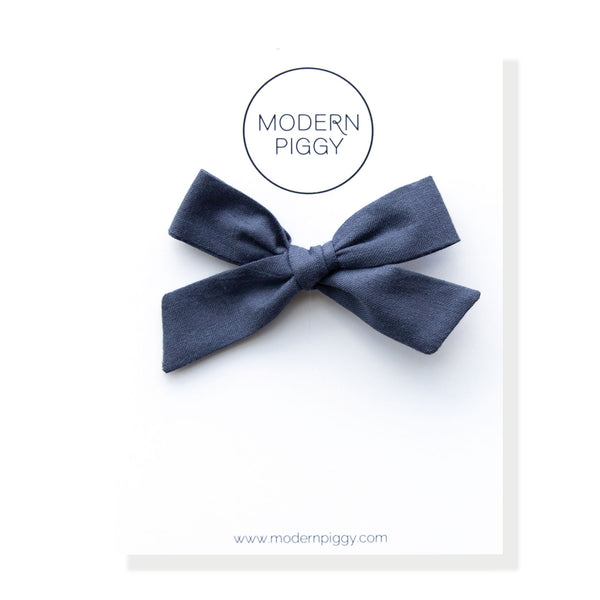 Blueberry | Hand-tied Bow