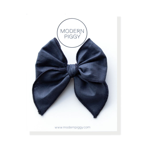 Blueberry | Petite Party Bow