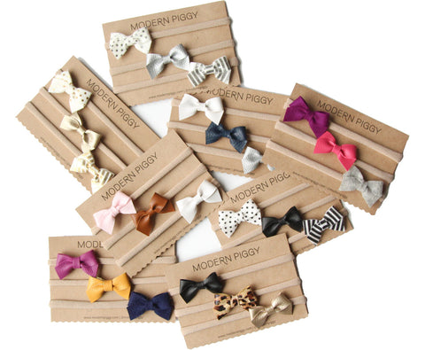 Create Your Own | Baby Bow Set (Headband, Clip or Elastic)