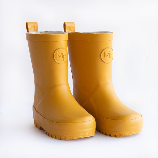 Mustard | Children's Rain Boot