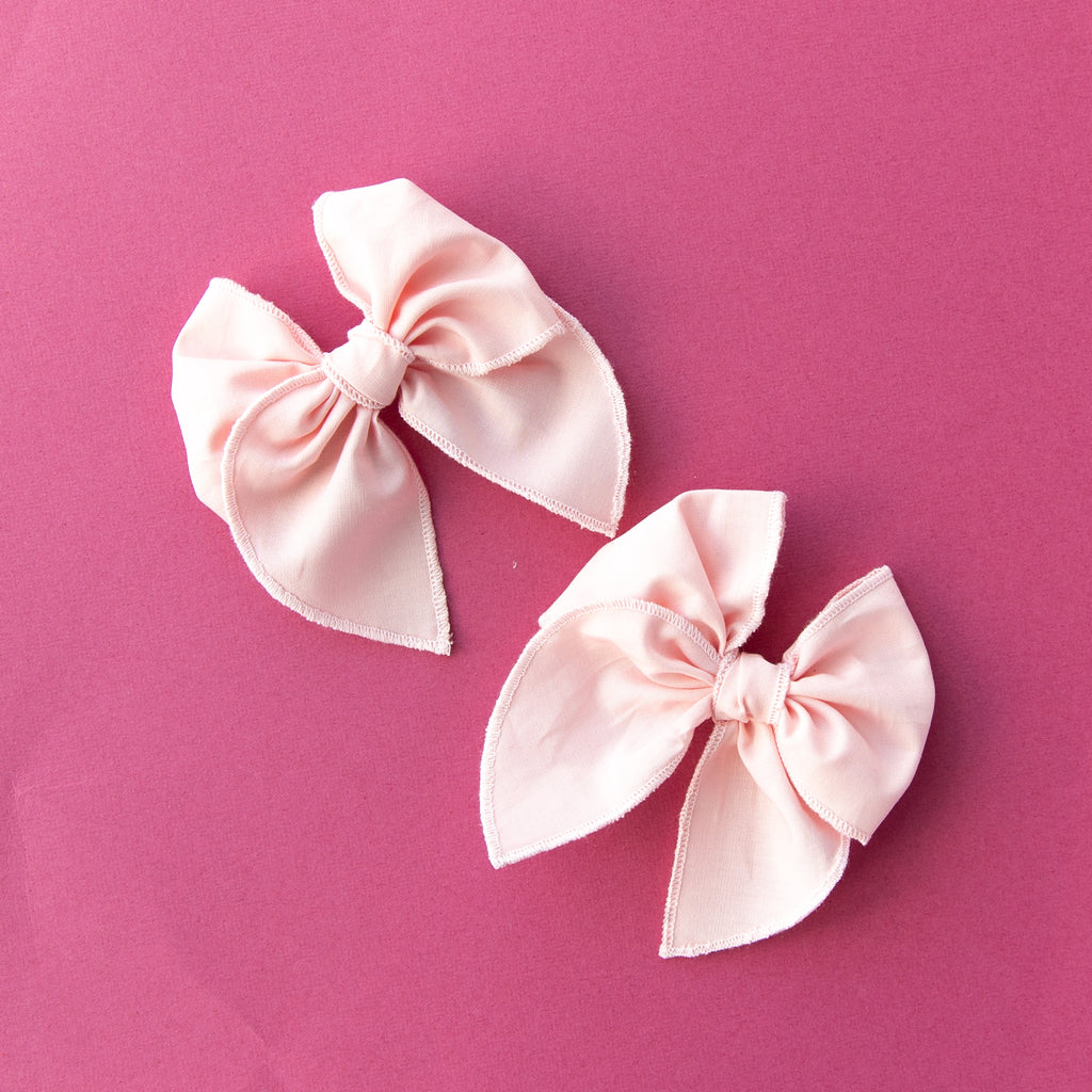 Candy Pink | Pigtail Set - Petite Party Bow