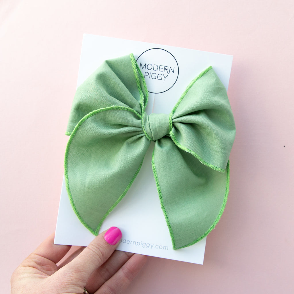 Seafoam Green | Party Bow