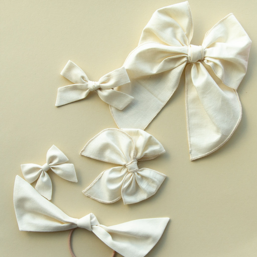 Whisper | Pigtail Set - Petite Party Bow