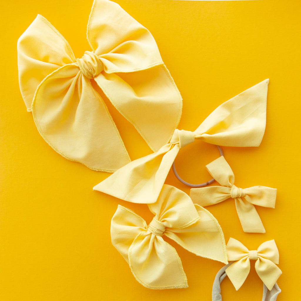 Sunshine | Hand-tied Bow