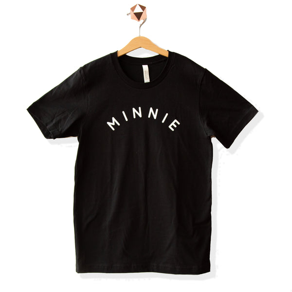 Minnie Black | Shirt (Newborn - Adult)