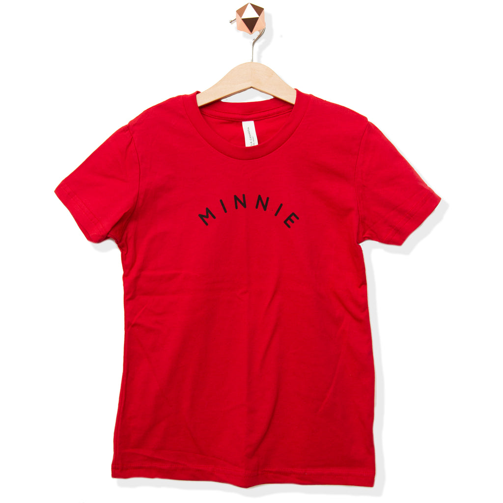Minnie Red | Shirt (Newborn - Adult)