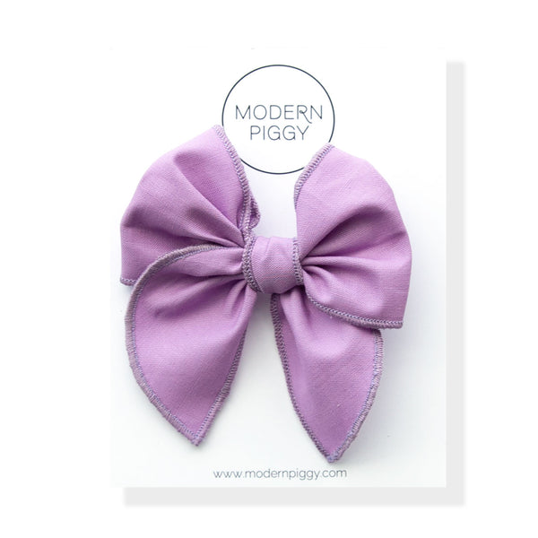 Striking Purple | Petite Party Bow