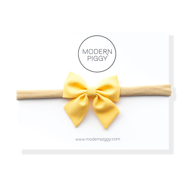 Sunshine | Mini Piggy Bow