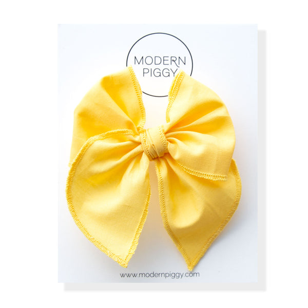 Sunshine | Petite Party Bow