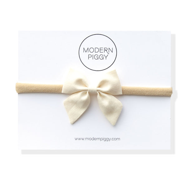 Whisper | Mini Piggy Bow