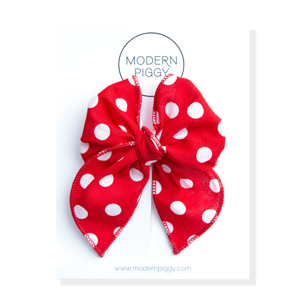 Minnie | Petite Party Bow