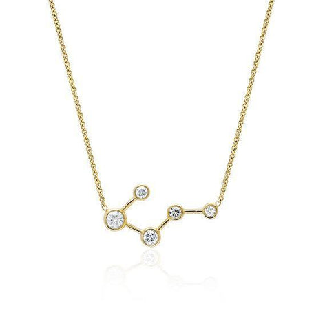 Big Dipper Diamond Constellation Necklace