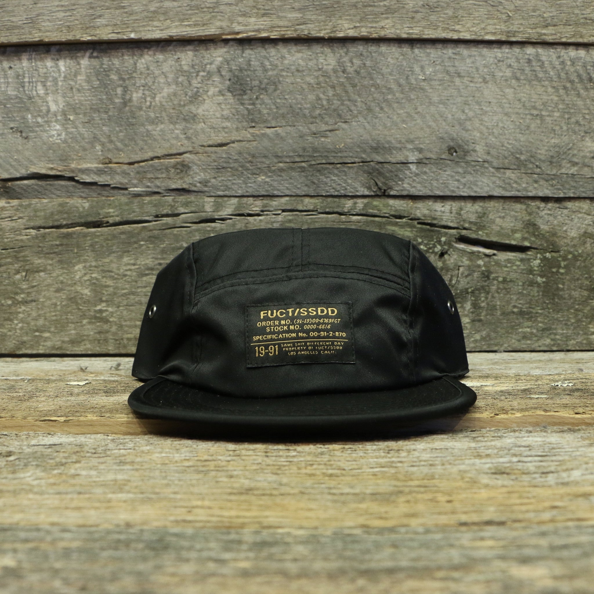 FUCT SSDD NYLON CAMP CAP