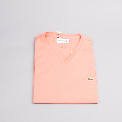 Lacoste V-Neck T-Shirt-Men's T-Shirts-LACOSTE | The Brooklyn Way