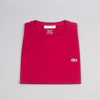 Lacoste Crew Neck Tshirt-Men's T-Shirts-LACOSTE | The Brooklyn Way