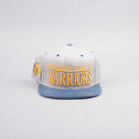 Mitchell & Ness Golden State Warriors Hat-Accessories-Mitchell & Ness | The Brooklyn Way