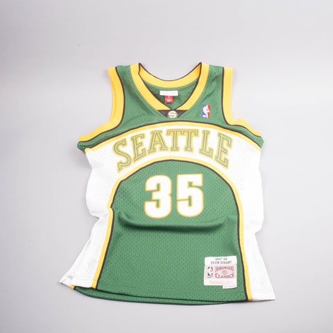 Mitchell & Ness Kevin Durant Seattle Jersey-Men's T-Shirts-Mitchell & Ness | The Brooklyn Way
